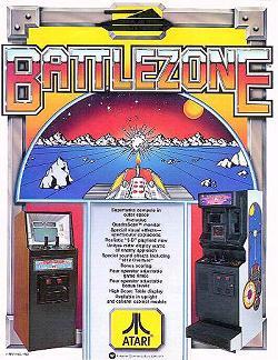 Atari Battlezone Spielhallen-Automat