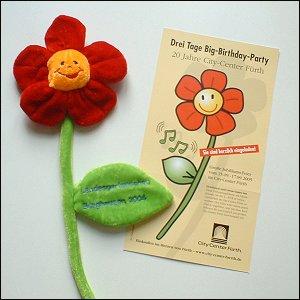 Werbe-Blumen