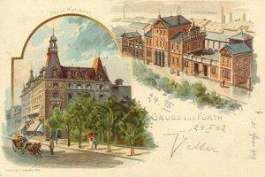 Ludwigsbahnhof und Hotel National