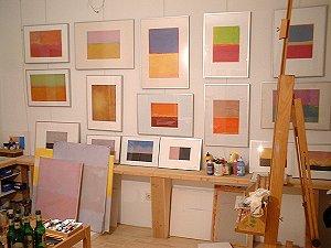 Udo Meier in seiner Atelierwohnung