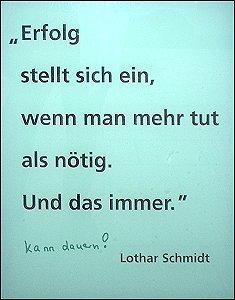 Zitat Lothar Schmidt