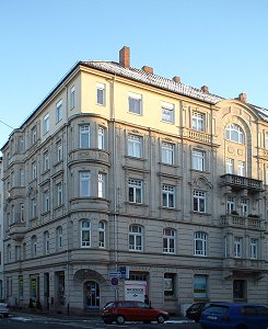 Ecke Amalienstraße / Ludwigstraße