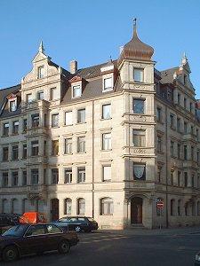 Eckhaus Ludwigstraße/Holzstraße