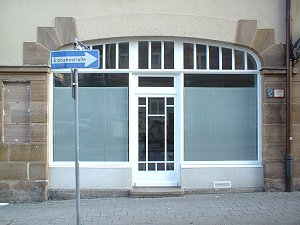 Fensterbogen in der Jakobinenstraße