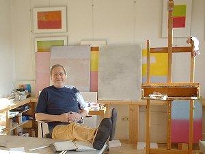 Udo Meyer in seinem Atelier