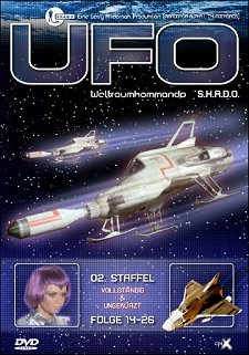 UFO DVD-Box (2. Staffel)