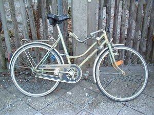 Fahrrad mit Knicklenker