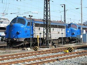 Dieselloks V 170 1125 und V 170 1151