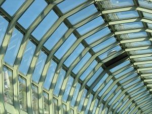 Glasdach im City-Center