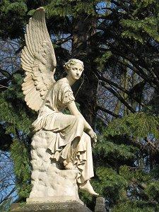 Engel im Stadtpark