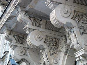 Balkon-Unterbau in der Königswarterstraße