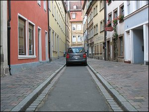 Sackgasse in Bamberg