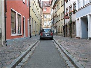 Sackgasse in Bamberg