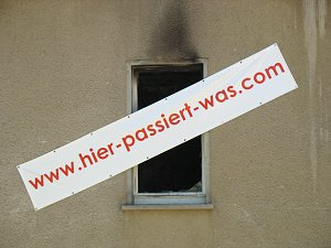 Werbebanner in Weimar