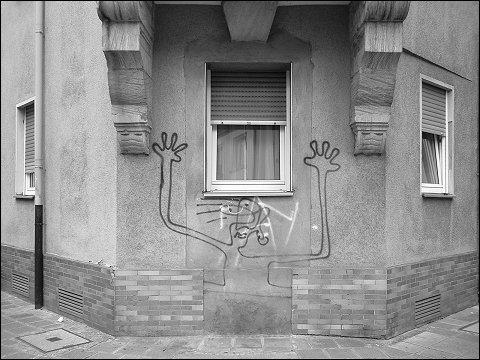 Graffiti in der Nürnberger Südstadt