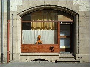 Des Nachbarn Schaufenster
