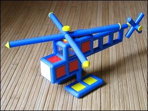 Plasticant-Hubschrauber