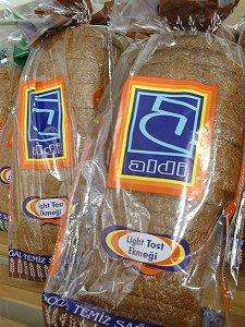 gefälschtes ALDI-Brot