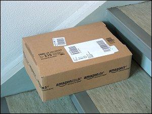Päckchen von amazon.co.uk