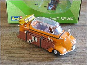 Revell 1/18 Messerschmitt KR 200 mit Skiern