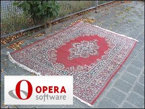Teppich auf dem Bürgersteig