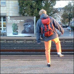 Bahnsteig-Blues