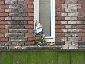 Bewacher eines Hinterhofes (Fürth, Karolinenstraße)