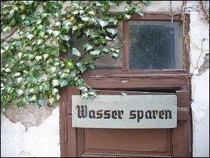 in einem Hinterhof der Marienstraße