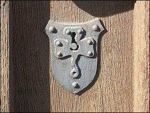 Schlüsselloch am Rathaus