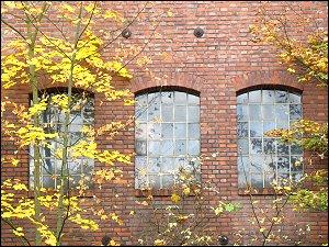 Rückseite der 'Kofferfabrik' in der Langen Straße