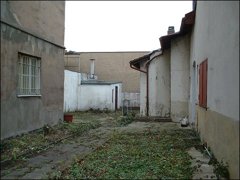 Verlassener Hinterhof (Nürnberg, Galgenhofstraße)
