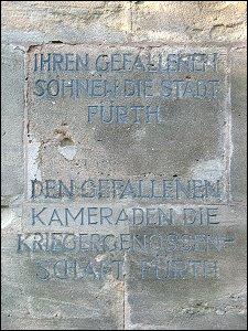 Kriegerdenkmal im Stadtpark