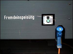 Diesellok an zonebattler's Garten