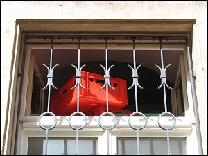 Bäckereifenster in Bayreuth