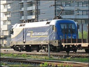 Taurus-Lok der Mittelweserbahn