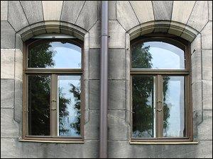 Fenster in der Karolinenstraße Nr. 50, EG rechts