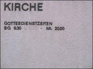 Kirche in der Kaiserstraße