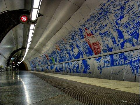 U-Bahnstation Fürth / Rathaus