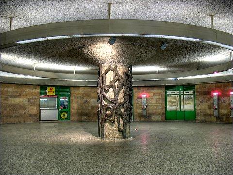 unterirdisches Verteilergeschoß Fürth (Bay) Hbf