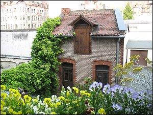 kleines Hinterhaus in der Simonstraße