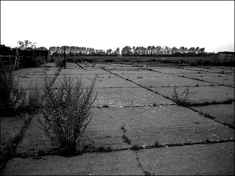 verlassene landwirtschaftliche Einrichtung irgendwo in Ostdeutschland