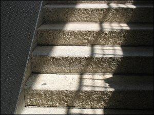 Treppe der Luisen-Unterführung