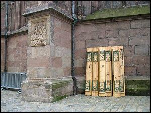 an der Nürnberger Sebalduskirche
