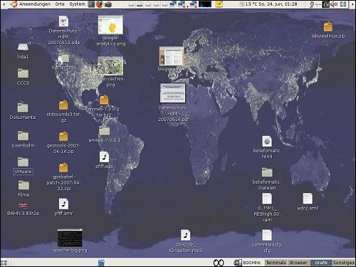 Desktop von ToJe