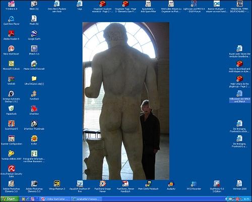 Desktop von Darwin