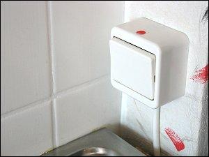 Übertisch-Schalter für Untertisch-Boiler