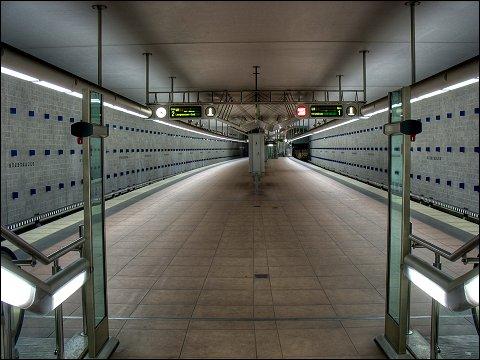 U-Bahnstation Fürth / Stadthalle