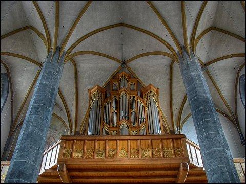 Orgel der Pfarrkirche St. Johannes in Neumarkt (Oberpf)
