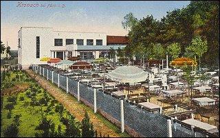 Gasthof Weigel nebst Biergarten, ca. 1930