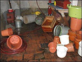 Waschkeller nach der Flut